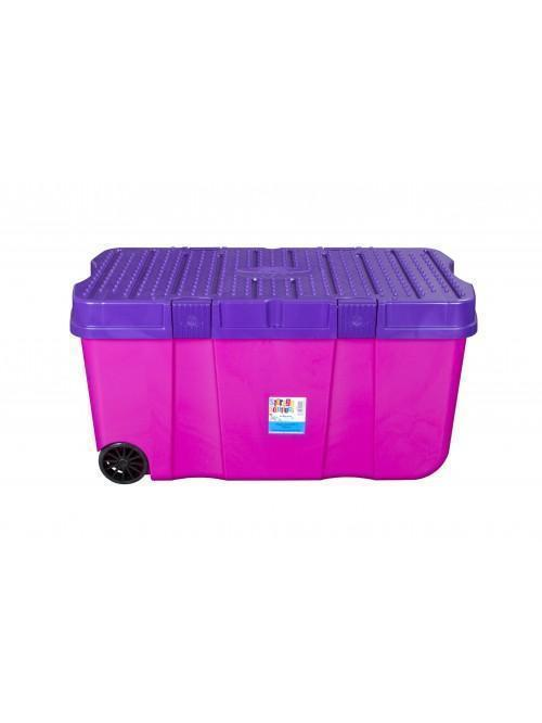 Wham® 100L Storage Trunk Purple