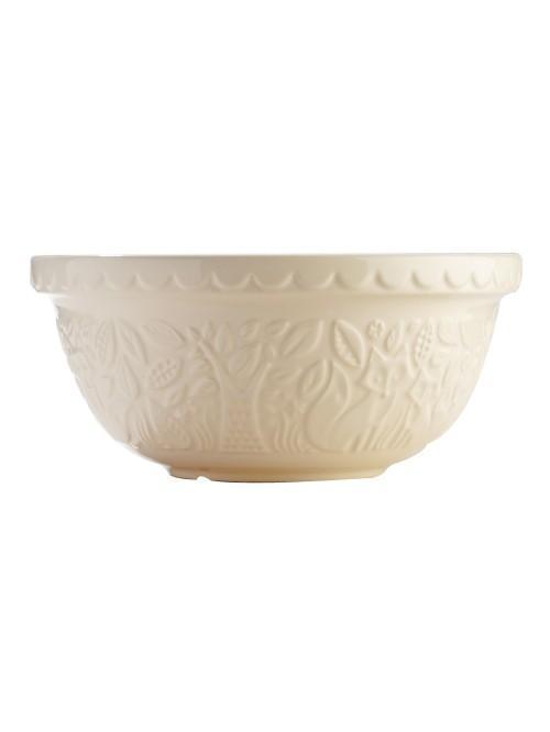 Mason Cash Fox Embossed Mixing Bowl 29cm Cream