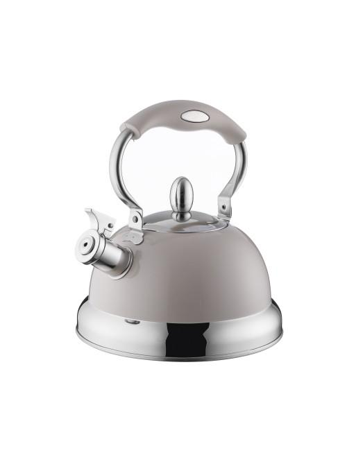 Typhoon Living Stove Top Kettle 2.5L Putty