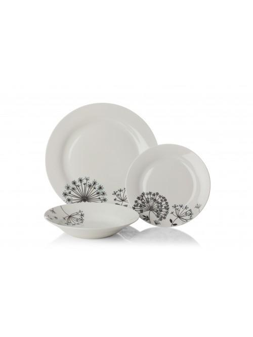 12 Piece Dandelion Dinner Set