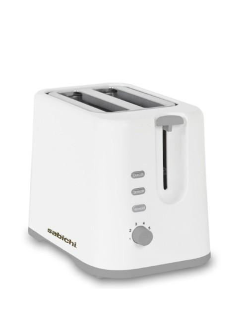 White Gloss 2 Slice Toaster