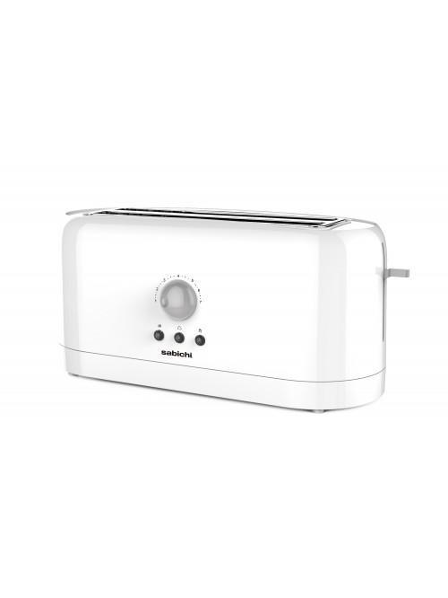 White Gloss 4 Slice Toaster
