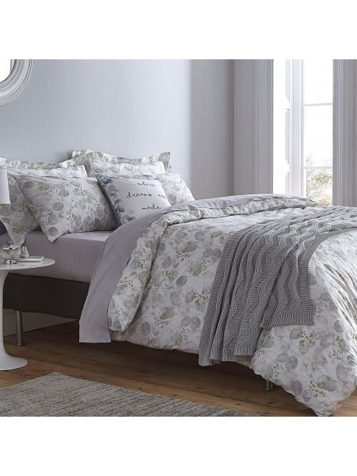 Bianca Cotton Soft Honesty Cotton Print Bedding Collection Grey