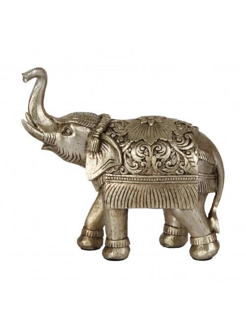 Natural World Collection Elephant Figurine Trunk Up