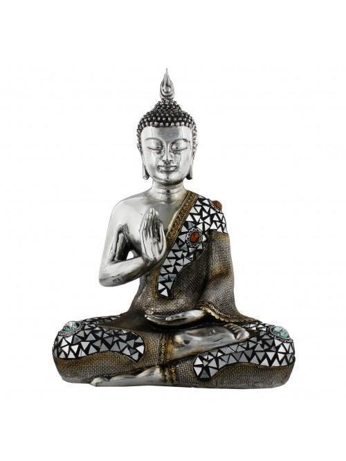 """Juliana Thai Buddha Sitting One Hand on Chest 14"""""""