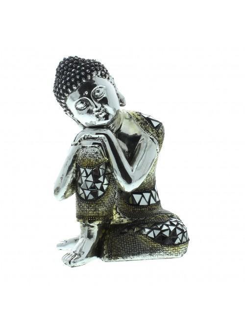 Juliana Thai Buddha Sitting - Head Resting on Knee 17 cms