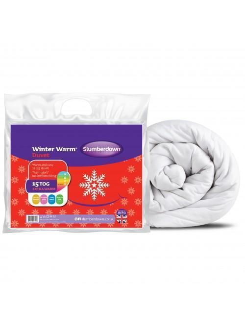 Slumberdown 15 Tog Winter Warmer Duvet