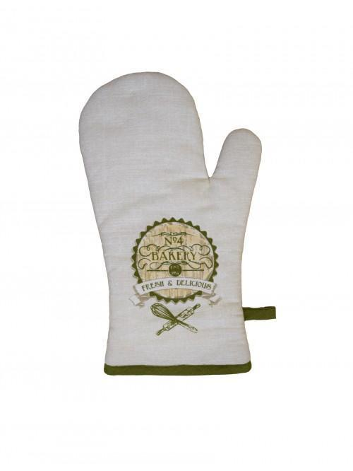 Ponden Home Printed Bakery Design Single Oven Glove