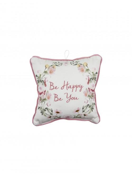 Be Happy Mini Cushion