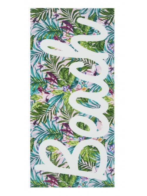 Catherine Lansfield Tropical Beach Towel Multi