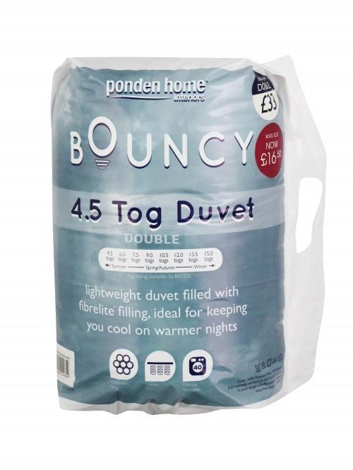 Bouncy 4.5 Tog Summer Duvet