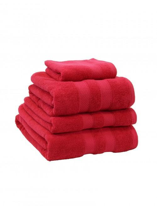 100% Cotton Egyptian Towels Bright Pink