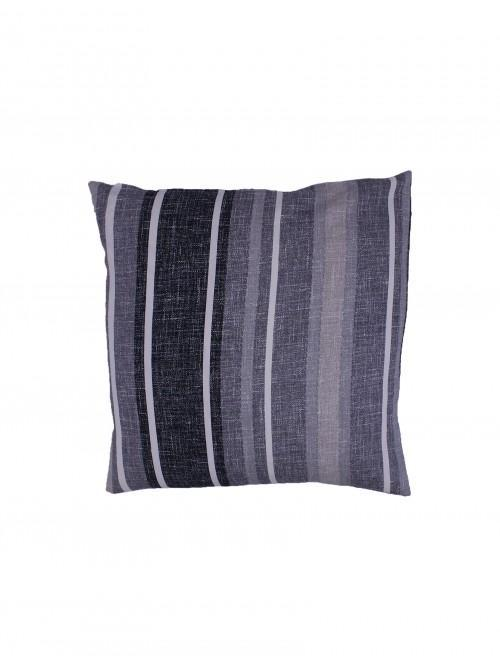 Brooklyn Stripe Cushion Grey