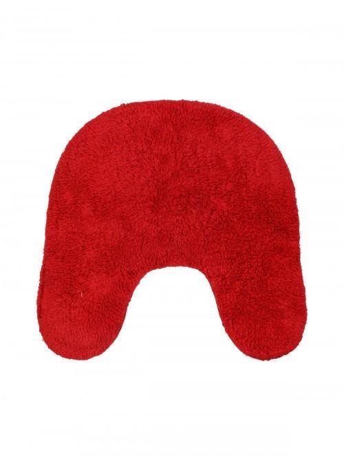 Ponden Home Candlewick Pedestal Mat Red