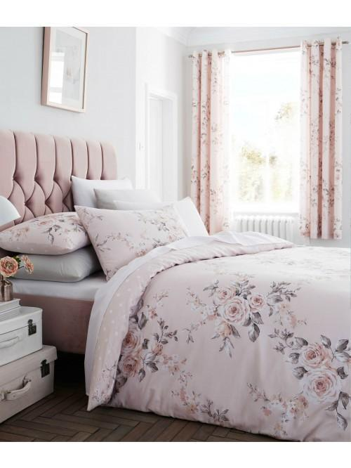 Catherine Lansfield Canterbury Bedding Collection Blush