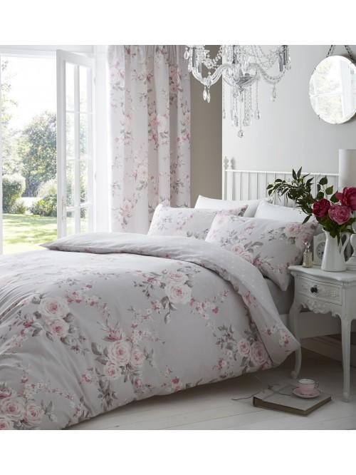 Catherine Lansfield Canterbury Bedding Collection Grey