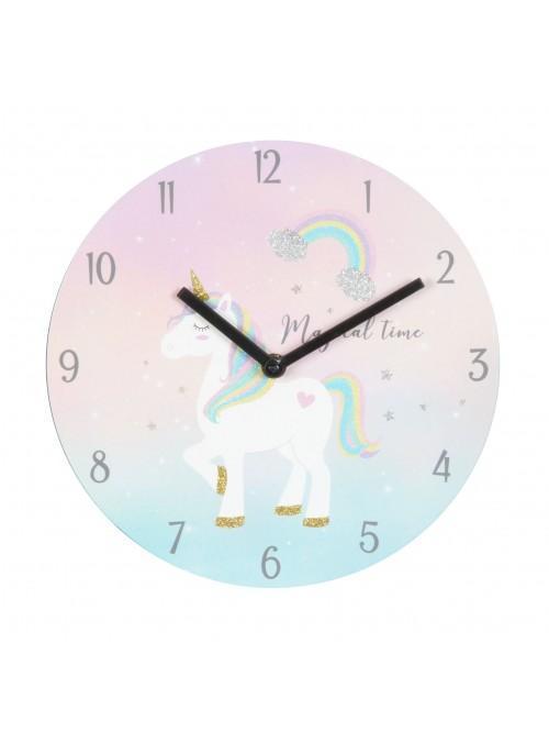 "Unicorn Magic Clock ""Magical Time"""