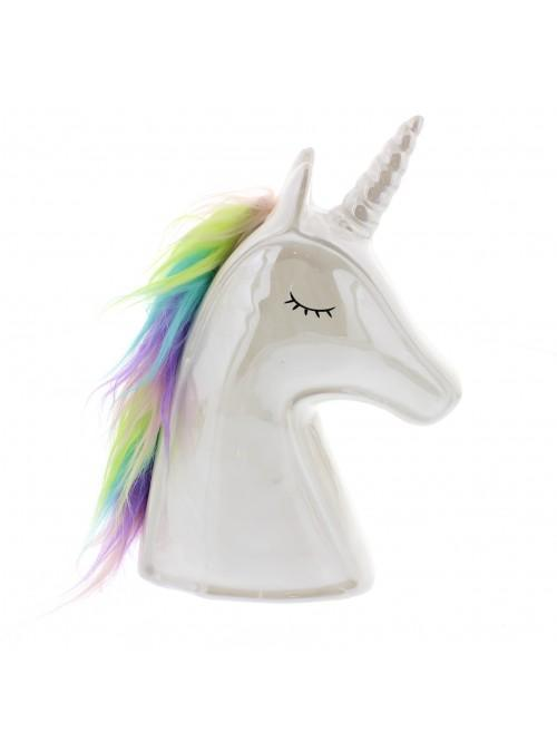 Unicorn Magic - Resin Unicorn Head Money Box