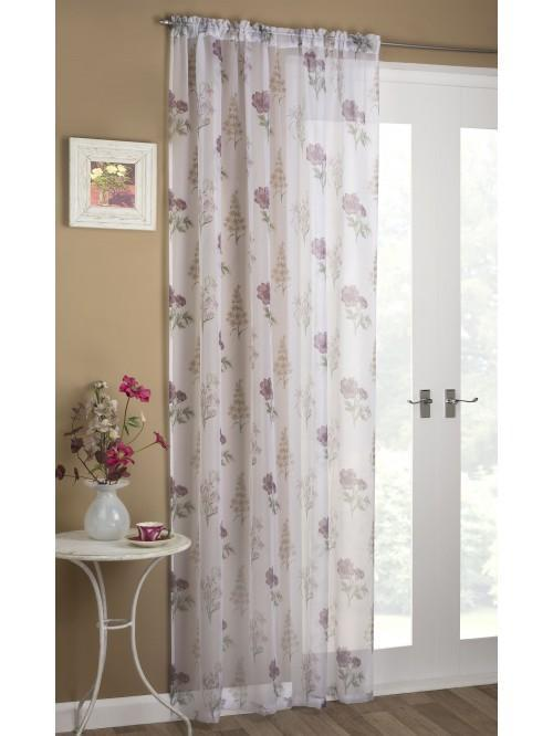 Charlotte Voile Panel Heather