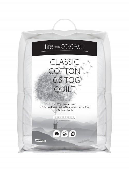 Classic Cotton 10.5 Tog Quilt