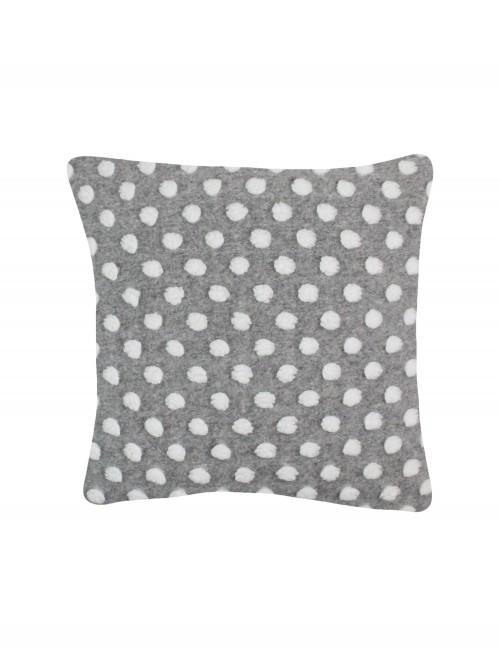 Cloud Spot Cushion Grey