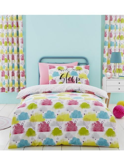 Catherine Lansfield Clouds Bedding Collection Multi