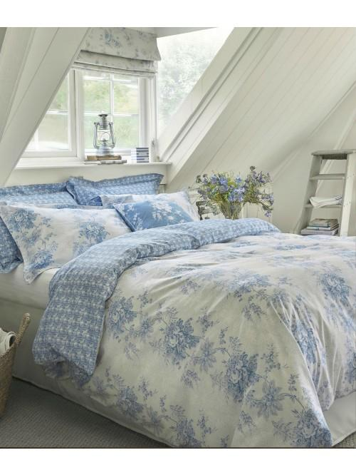 Cabbages & Roses Charlotte Bedding Collection Cornflower