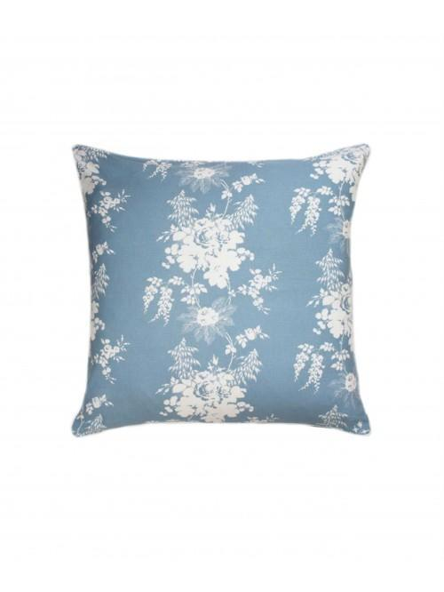 Cabbages & Roses Charlotte Cushion Cornflower
