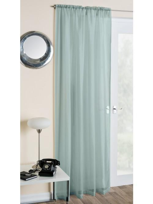 Crystal Voile Panel Duck Egg