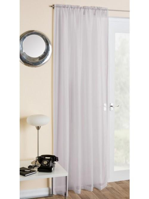 Crystal Voile Panel Grey
