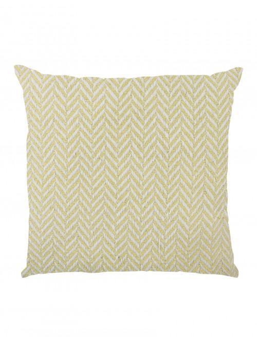 Herringbone Large Cushion Ochre