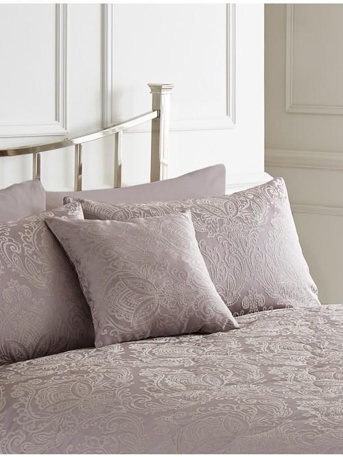 Damask Jacquard Cushion Pink