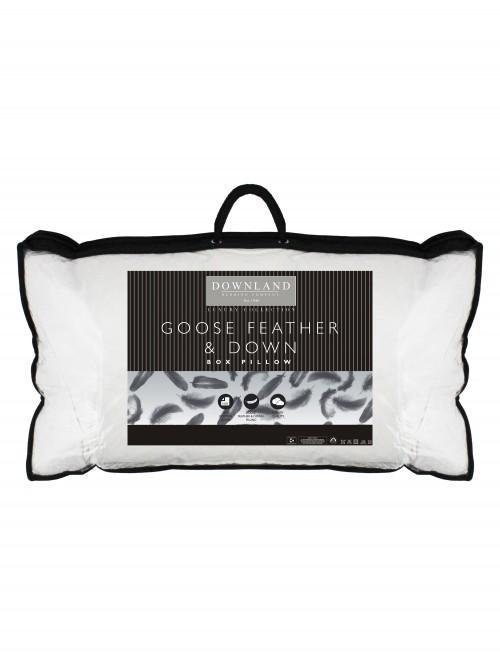 Downland Goose Feather Box Pillow