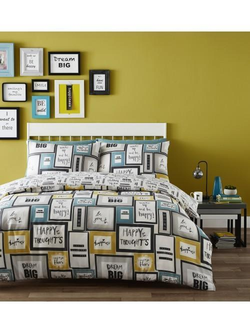 Catherine Lansfield Dream Big Duvet Set Multi