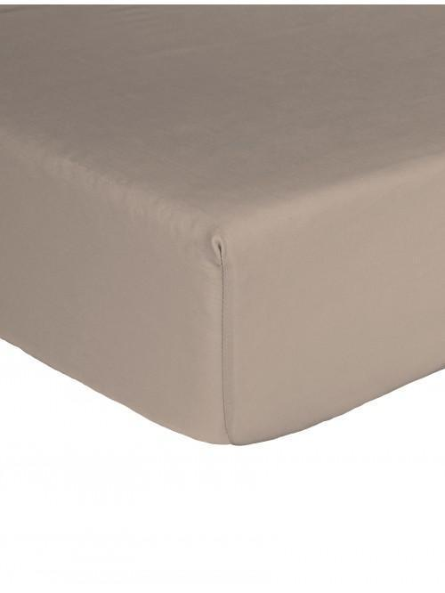 Egyptian 100% Cotton 200 Thread Count Fitted Sheet Stone