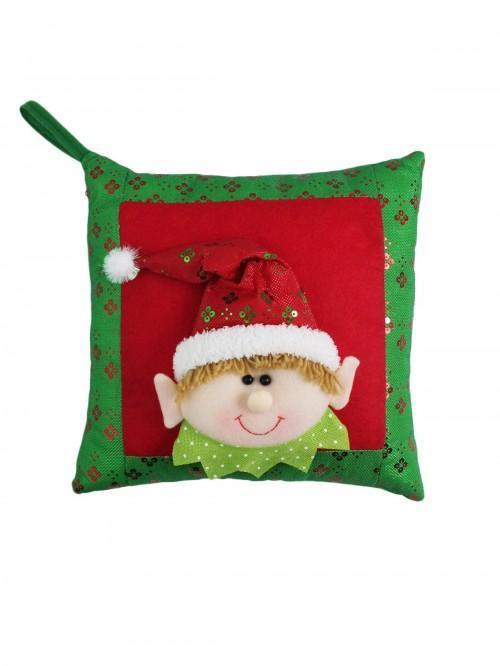 Elf Cushion Red