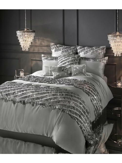 Kylie Minogue Eliza Bedding Collection Pewter