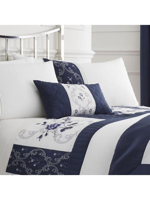 Empress Bed Cushion Blue
