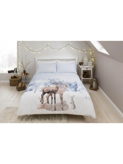 Enchanted Forest Duvet Set Blue