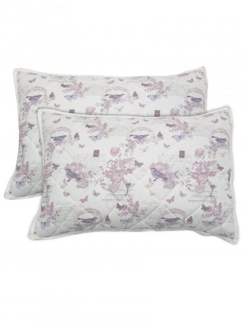 Enchantment Printed Pillowsham Pair Heather
