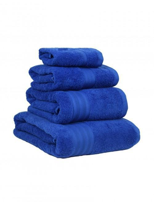 Extra Soft 100% Cotton Towels Cobalt Blue