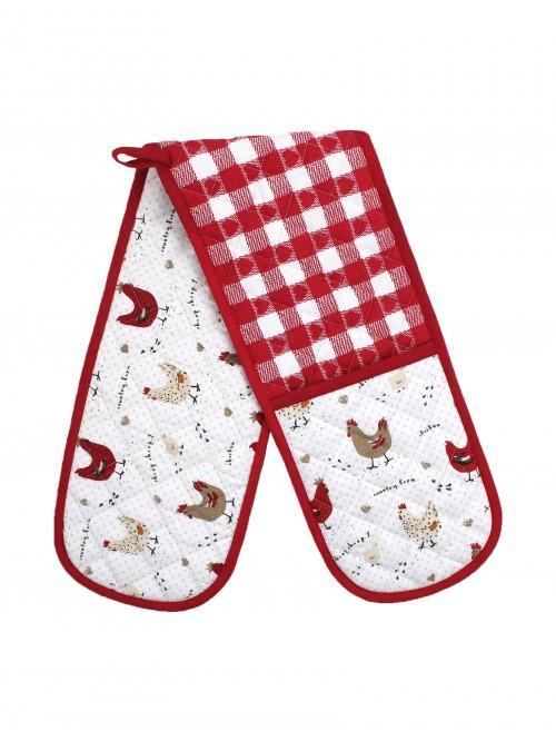Farmhouse Chicken Double Oven Glove