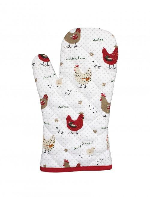 Farmhouse Chicken Single Oven Glove
