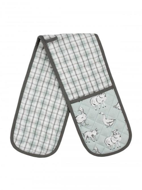 Farmyard Double Oven Glove