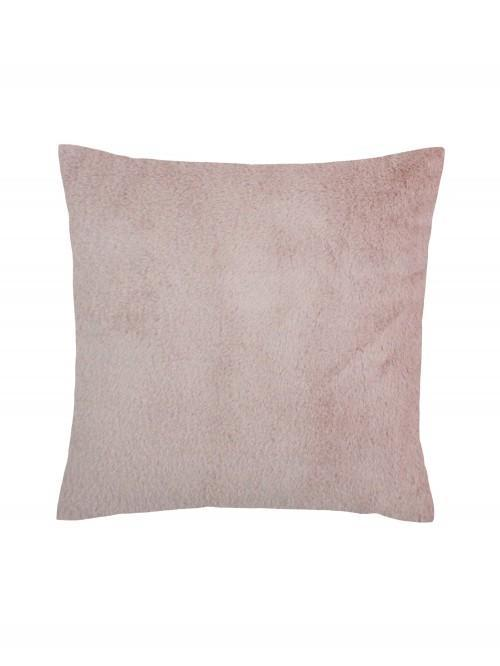 Faux Fur Cushion Blush