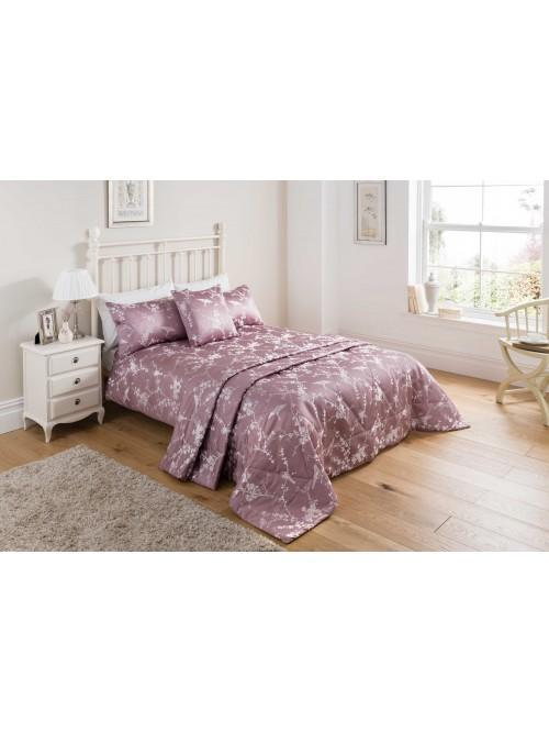 Finch Jacquard Bedding Collection Heather