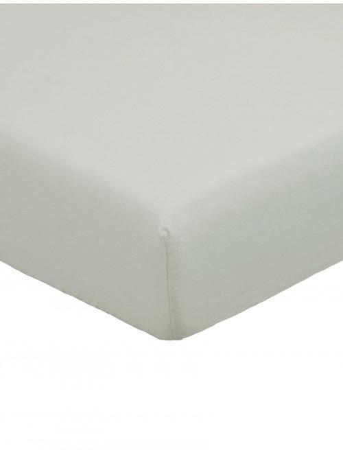 Flannelette Flat Sheet Grey