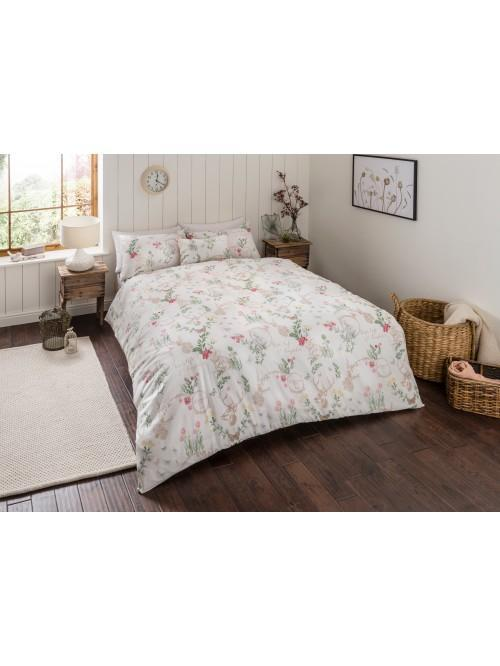 Flora Printed Bedding Collection Pink
