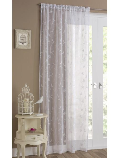 Florence Voile Panel White