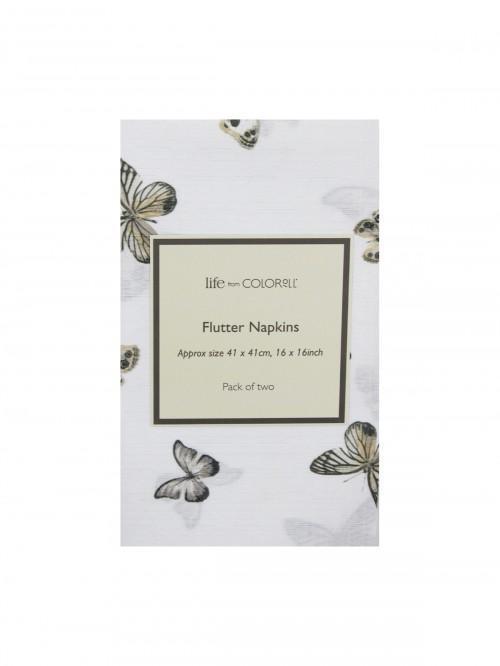 2 Pack Flutter Napkins